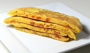 Pancakes hyperprotéinés aux baies de Goji