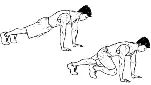 Mountain climber exercice fitness
