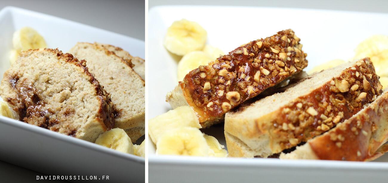 Cake protéiné : Recette du Banana Bread aux pépites de chocolat