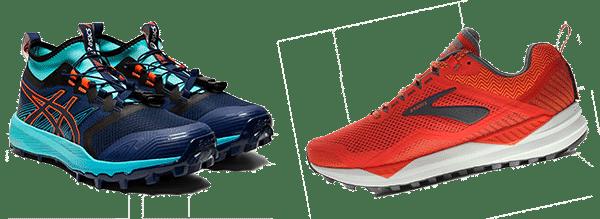 chaussures de trail neutre