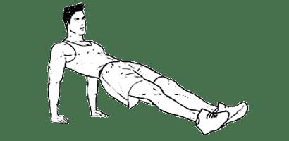 planche dorsale inversée