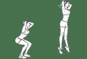 squats sautés