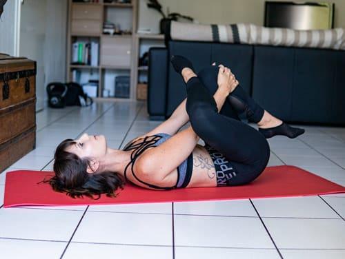 étirement piriforme exercice contre mal de dos