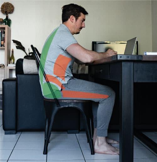 posture assise mal de dos
