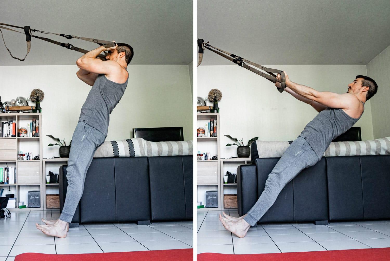 Curl Trx : L'exercice phare pour muscler vos biceps au poids de corps